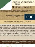 3.2 REPRESENTACIÓN DE ESFUERZOS MEDIANTE EL CÍRCULO DE MOHR. DIAGRAMA P-q