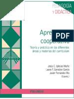 Aprendizaje cooperativo - Jesús C. Iglesias Muñiz