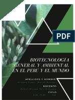 1 HISTORIA DE LA BIOTECNOLOGIA
