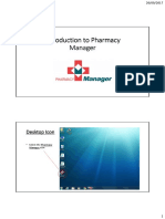 Introduction to Pharmacy Manager