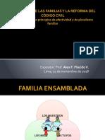 2018.11.22 - El derecho de las familias y el Código Civil. - Alex Plácido