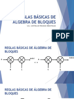 REGLAS BÁSICAS DE ÁLGEBRA DE BLOQUES