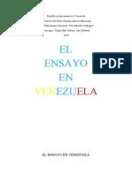 EL ENSAYO EN VENEZUELA