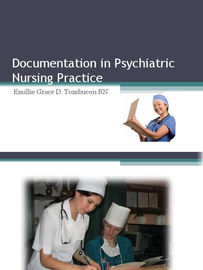 Documentation in Psychiatric Nursing