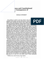 Dworkin, Ronald M. - Social Sciences and Constitutioanl Rights