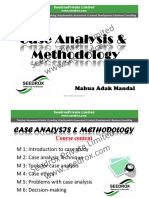 M 1 Introduction to case study