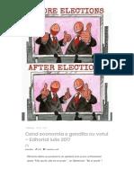Cand Economia e Gandita Cu Votul – Editorial Iulie 2017 – AutoTehnica