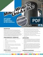 MapeWrap C, Uni-Ax 600