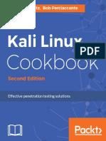 Corey P. Schultz, Bob Perciaccante - Kali Linux Cookbook_ Effective Penetration Testing Solutions-Packt Publishing (2016)