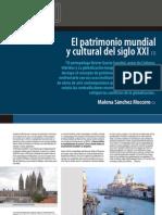 09 - El Patrimonio Mundial y Cultural Del Siglo XXI