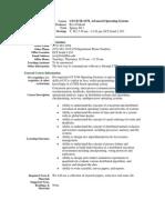 UT Dallas Syllabus for cs6378.001.11s taught by Ravi Prakash (ravip)
