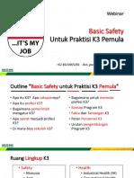Materi Basic Safety #1