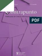 Revista Contrapunto (UAH). Número 37