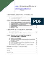 1410 Credit Area Persoanelor Juridice La XYZ