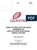 CODE OF PRACTICE FOR SAFE WORKING ON LOW VOLTAGE ELECTRICAL INSTALLATIONS.pdf