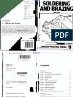 workshop practice series 09 - soldering and brazing