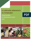 La Seguridad Aliment Aria en El Salvador