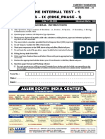 online internal test 1   phase 1