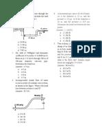 hydraulics-questions