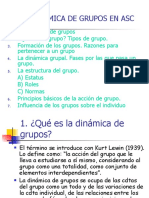 Tema 2. El análisis de los grupos y su dinámica