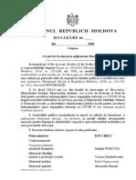 DOC // Guvernul alocă 5,6 milioane de lei pentru acordarea indemnizațiilor unice angajaților de stat infectați cu COVID-19