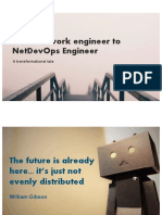 DevNet Day for Prio Partners - From network engineer to NetDevOps Engineer
