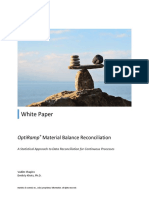 White Paper. OptiRamp Material Balance Reconciliation. A Statistical Approach to Data Reconciliation for Continuous Processes.pdf