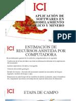 APLICACIÓN DE SOFTWARES DE MODELAMIENTO GEOLOGICO Y MINERO