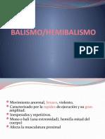 BALISMO ATETOSIS
