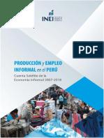 Producción y empleo informal en el Perú.pdf