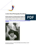 London Street Photography Playlist