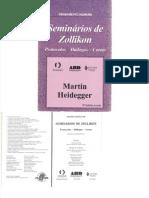 Seminários de Zollikon - Martin Heidegger