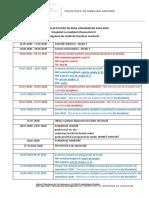 CALENDAR ACTIVITATI MD mai-septembrie