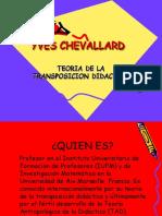 Teoria de La Transposicion Didactica