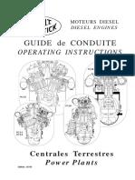 Pielstick Operation Manual