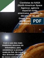 NASA - FALTA 1 DIA NO CALENDÁRIO CÓSMICO