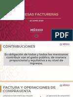 SHCP-SAT Empresas Factureras, 23jun20
