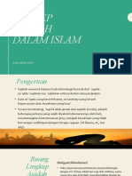 KONSEP AQIDAH DALAM ISLAM (1)
