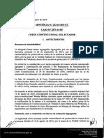 SENTENCIA N.0 253-16-SEP-CC