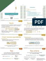 Tarjeta Apuntes Razones y Proporciones Digital