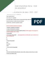 REGISTRO DE ESTUDIANTES 2020