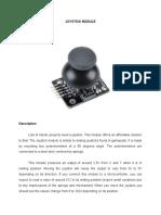 Modulo Joystick de Arduino