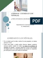 Ansiedad y estrés en los niños(as) PPT