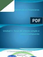 1.) Unidad 1 Matemáticas Financiera