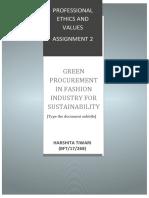 HARSHITA TIWARI PROFESSIONAL ETHICS AND VALUES ASSIGNMENT 2