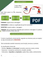 Aula - Verbal - Não Verbal - Tipos de Texto - Funções da Linguagem