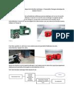 Analyse des solutions constructives-transmission de l'énergie mécanique