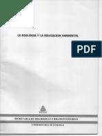 Ecologia y Educacion Ambiental  SEDUE 1986