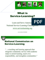 What is Service Learning-prince Dudhatra-9724949948