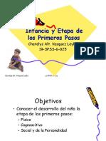 Infancia y etapa de los primeros pasos